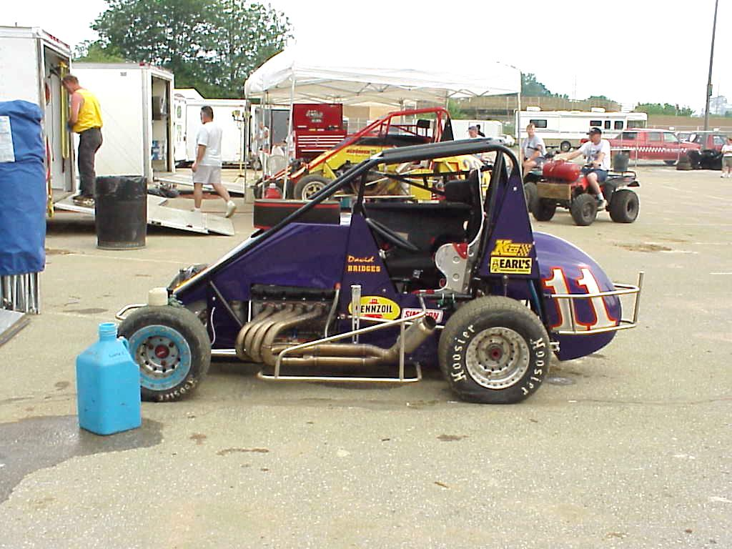 David bridges midget car driver